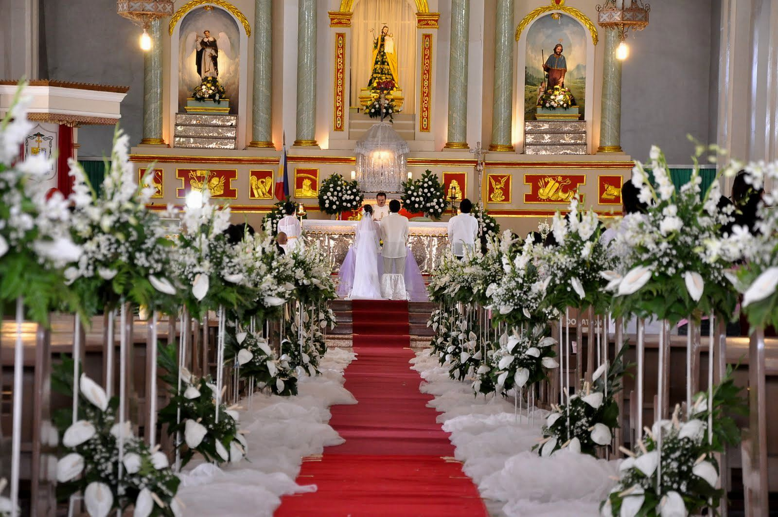 wedding church flowers altar decorations image result for catholic church wedding decorations 8959