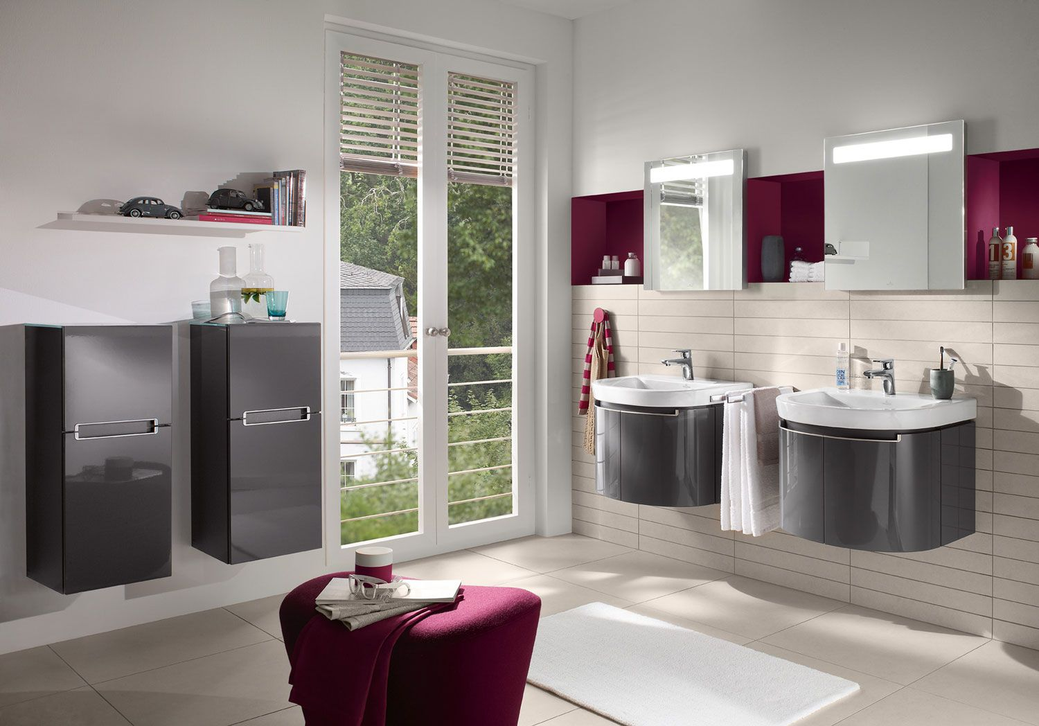 Superb Villeroy u Boch bathroom inspiration Collection Subway