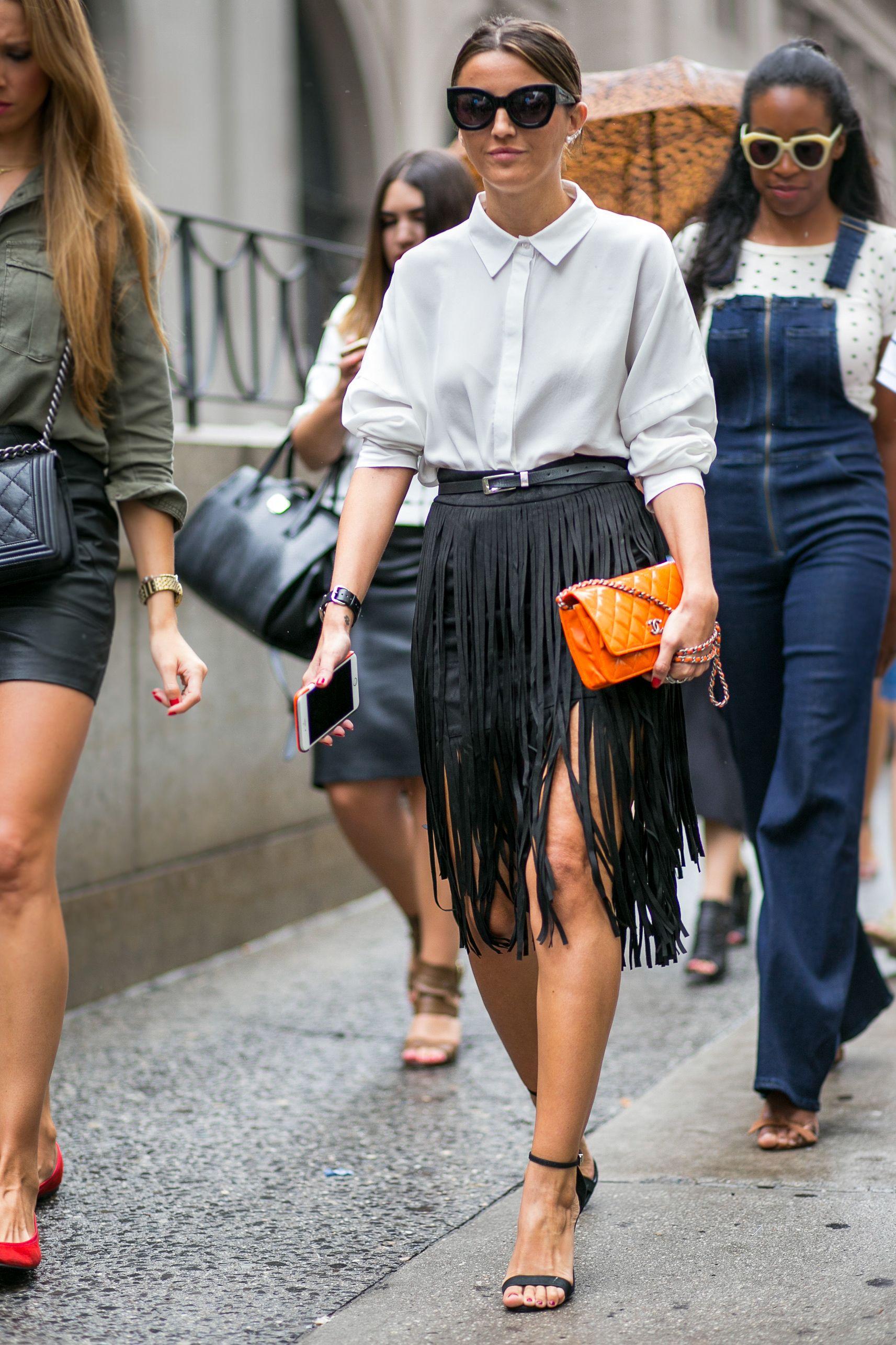 Street Style Nyfw Wiosna Lato 2016 Fashion Post Inspiracao