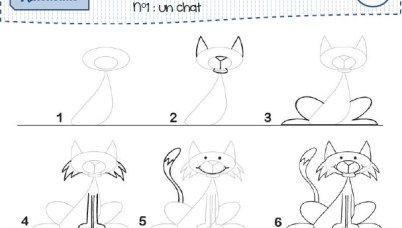 Un fichier de dessins par étapes