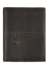 1e8e05ee8daac Duży męski portfel w kolorze ciemnoczekoladowym marki VIP COLLECTION Napoli  59