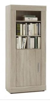 deze moderne boekenkast uit de fox collectie is trendy en heel goed te combineren de