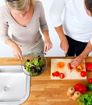 The couple that cooks together, stays together!