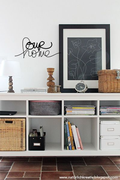 natuerlichkreativ our home Home styling Pinterest - deko wohnzimmer regal