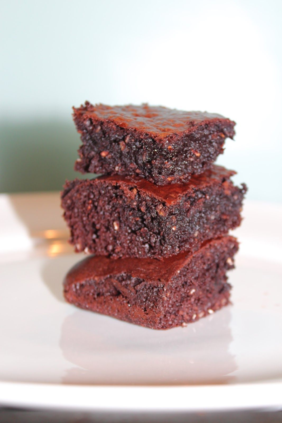 Random Drawers: Condensed Milk and Instant Oats Brownies- Easy to make and ready in 20 minutes. Perfect warm with ice-cream or whipped cream.