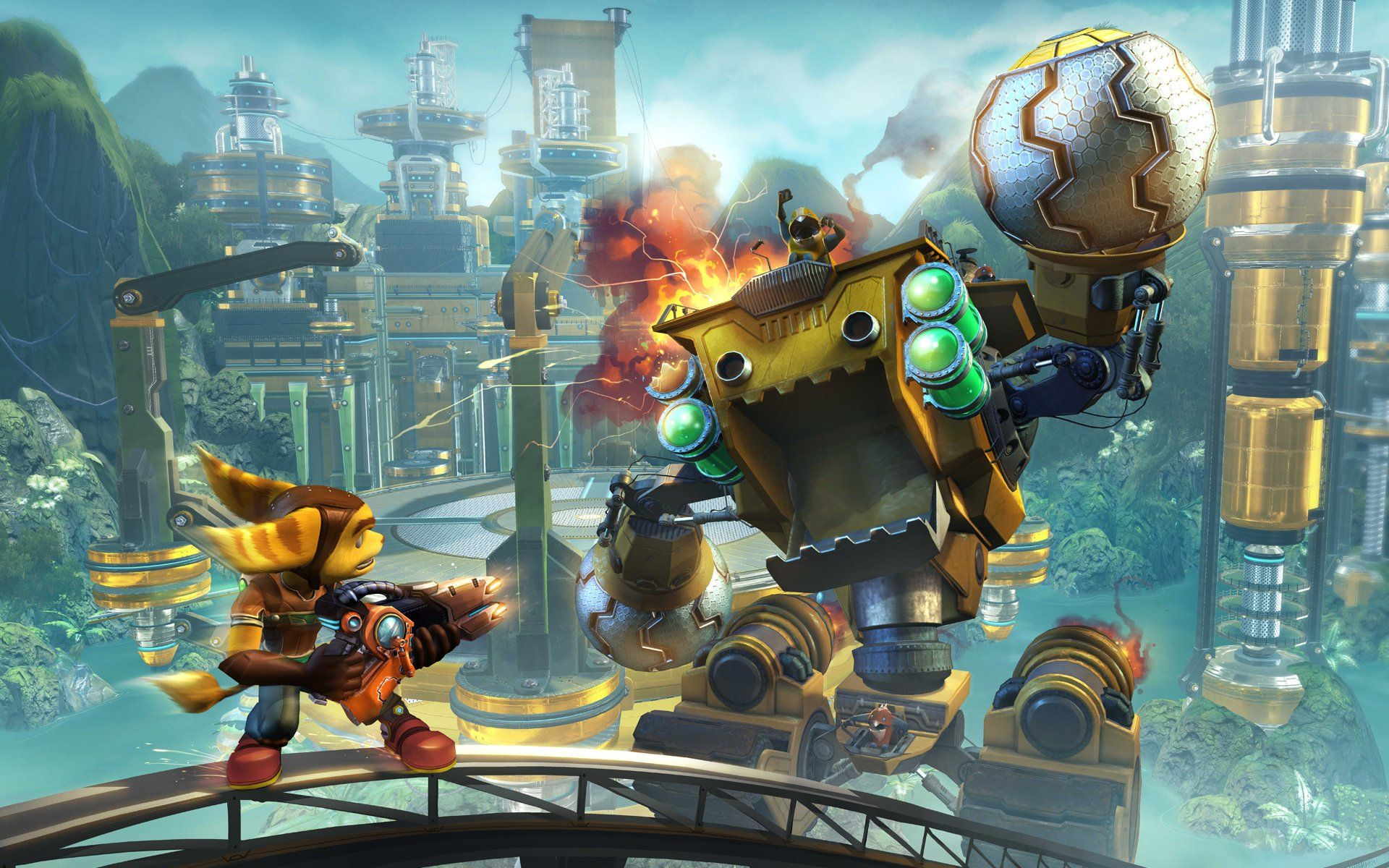 A Screen Taken Of Ratchet Clank Future Tools Of Destruction For