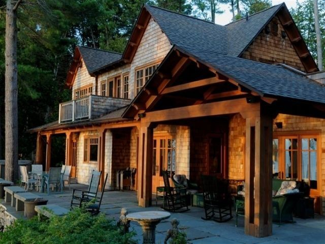 Creative Adirondack Style House Plans Adirondack Homes House Plans House Bluestone Patio