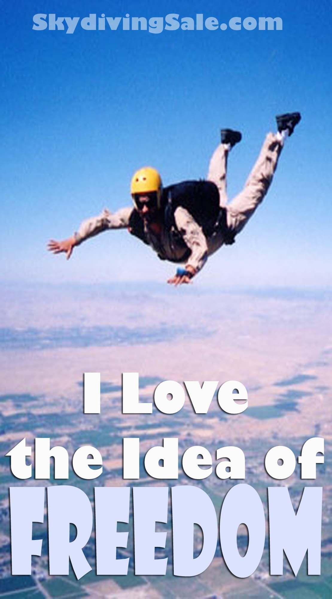 I love the idea of freedom!