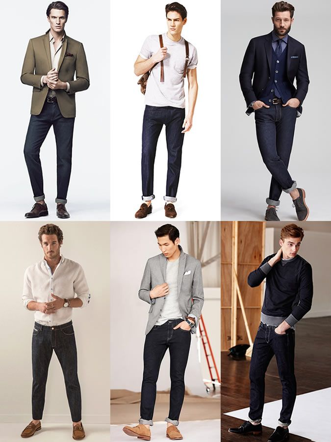 482ecf16a35d Men s Indigo Jeans Spring Summer Outfit Inspiration Lookbook ...