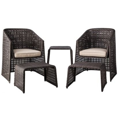 Threshold Ordway Wicker Patio Conversation Furniture Collection