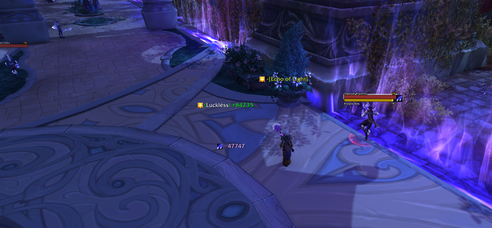 This Npc Followed Me All The Way From Moon Guard Stronghold To