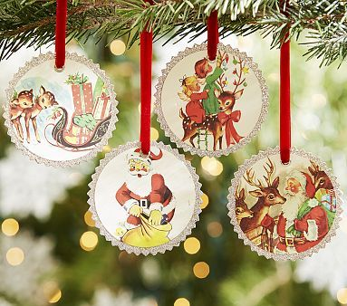 Retro paper ornament set im thinking i can make these myself im thinking i can make these myself vintage homemade christmaschristmas christmaschristmas ornamentschristmas solutioingenieria Image collections