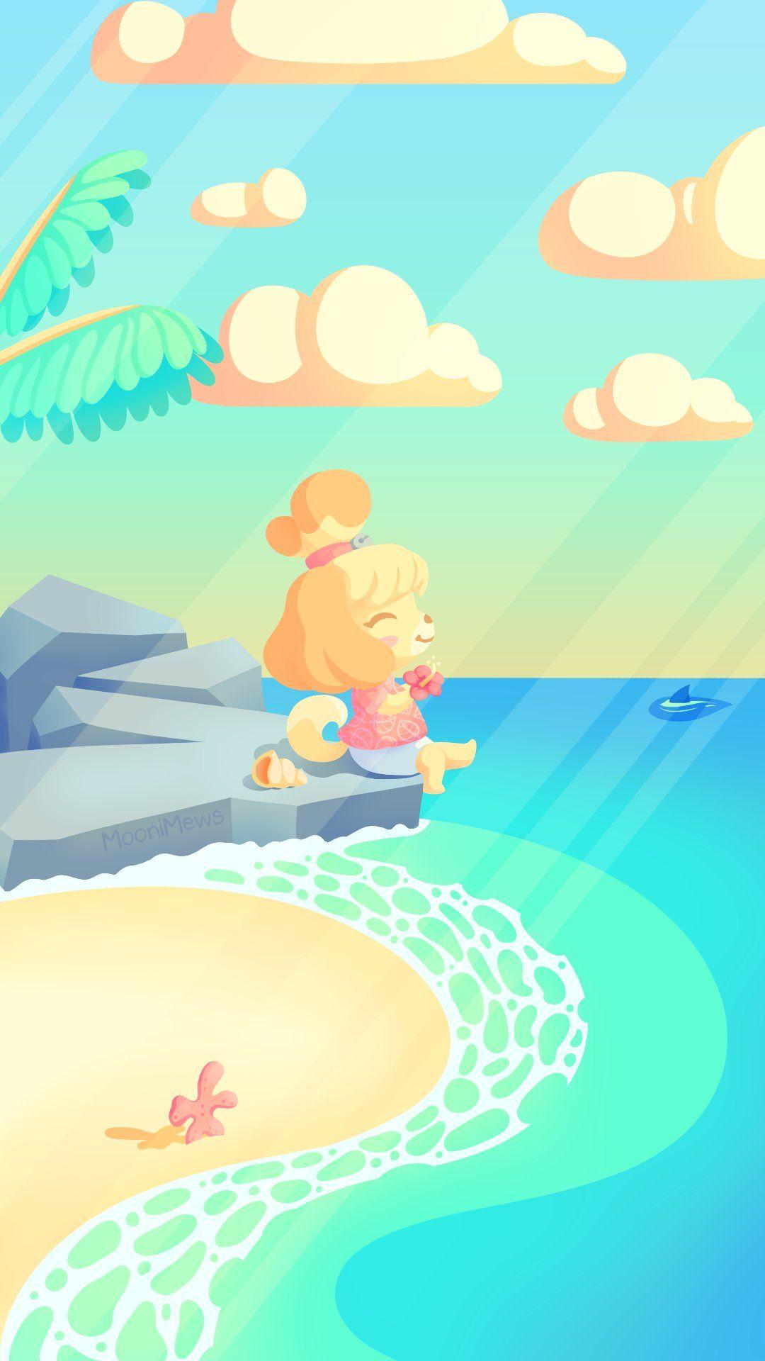 Moonimews Bim On Twitter Animal Crossing Fan Art Animal Crossing Wallpaper Animal Crossing Villagers