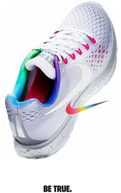 5c27b9f1e6e Nike Released a Rainbow Collection to Celebrate the LGBTQ+ Community. Nike  Flyknit RacerSneaker BarNike Air ...