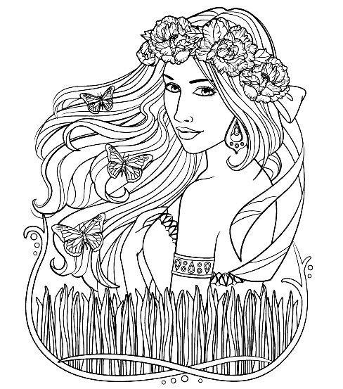 Pin de Elisabeth Quisenberry en Coloring Pretty | Pinterest