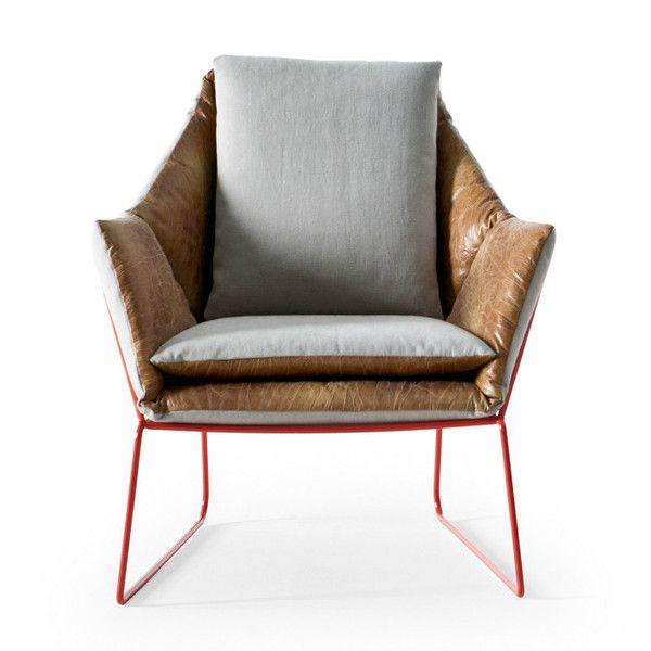 New York Lounge Chair by Saba Italia
