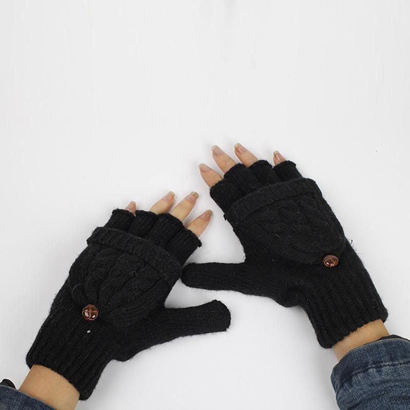 2 in 1 Fingerless Gloves & Mittens | Shadle craft show projects ...