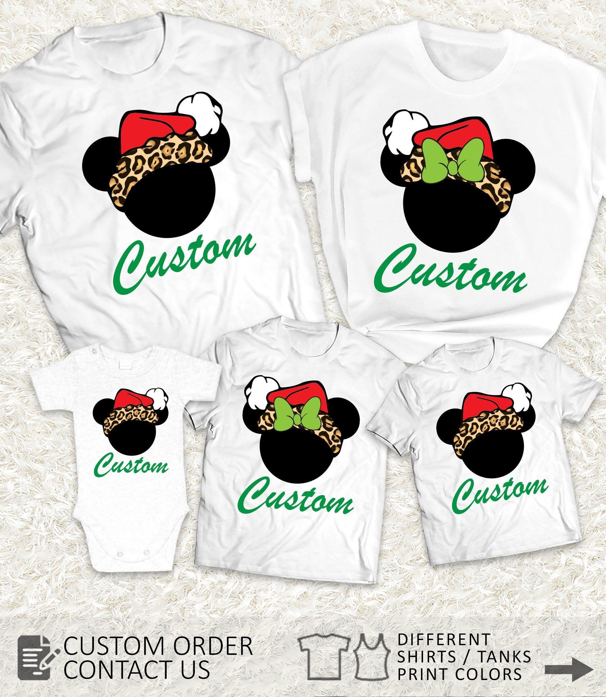Animal Kingdom Christmas 2020 Items similar to Matching Animal Kingdom Christmas family shirts