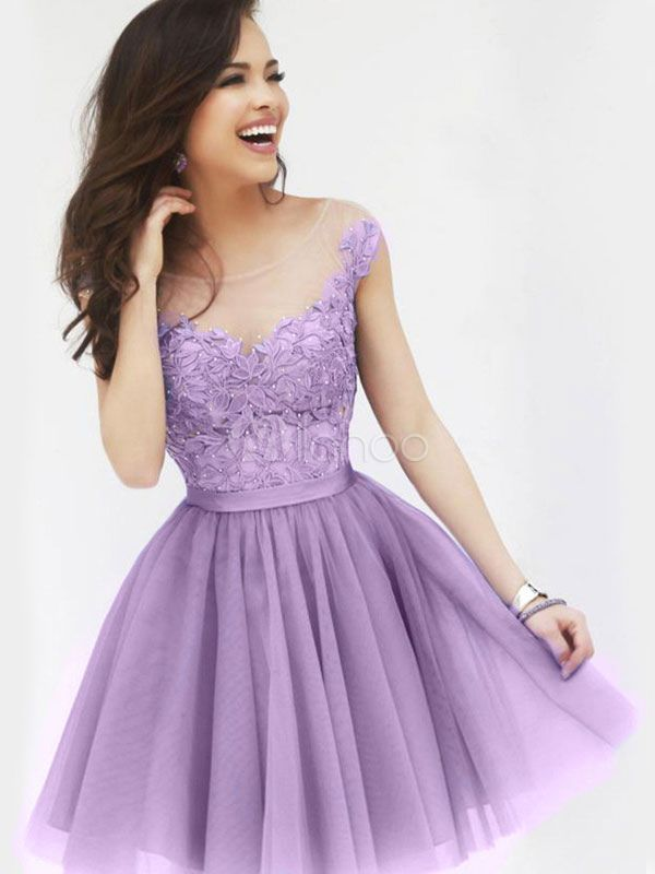 Red Ruffles Seersucker Lace Flared Dress for Women | Pinterest ...