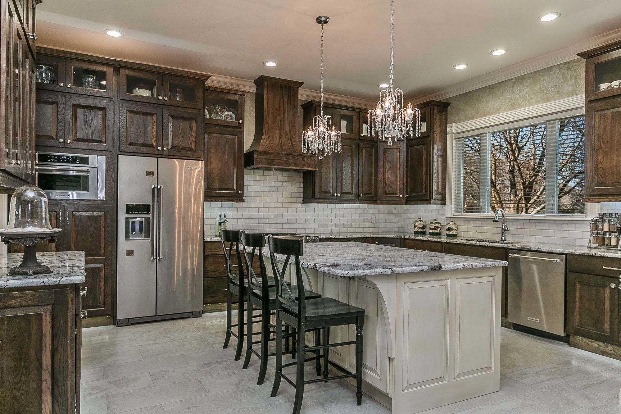 Amarillo By Morning Complete Kitchen Remodel Kitchen And Bath Design Stained Kitchen Cabinets
