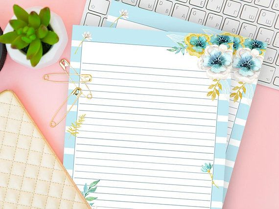 Lines Paper Lined Paper Printable Writing Page Download Digital Stationery .