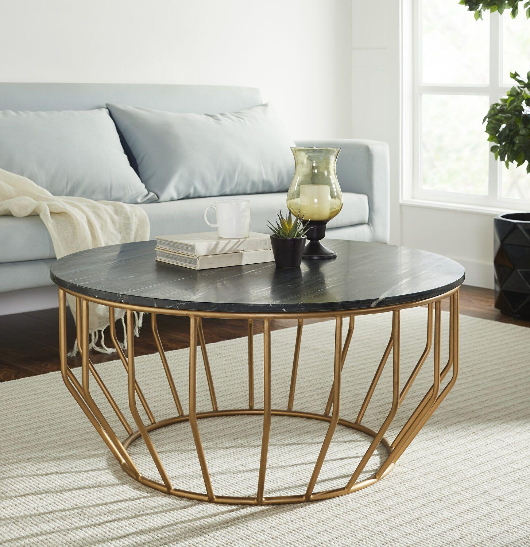 Golden Leaf Black Coffee Table Gd01 109 Mod Arte Coffee Tables In 2021 Pedestal Coffee Table Coffee Table Marble Top Coffee Table [ 1500 x 1453 Pixel ]