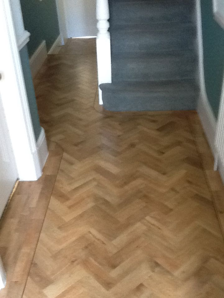 Art Select Parquet Blonde Oak Flooring
