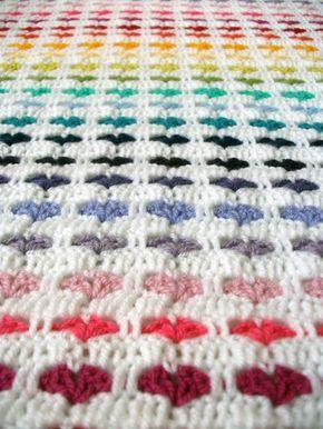 Modele Plaid Au Crochet