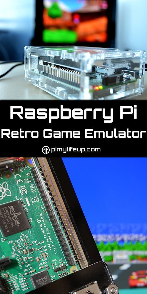 Build a Raspberry Pi retro game emulator that can play hundreds of classic video…