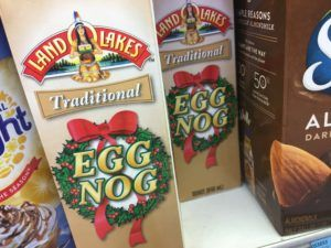 Oh, No! There's an Eggnog Shortage