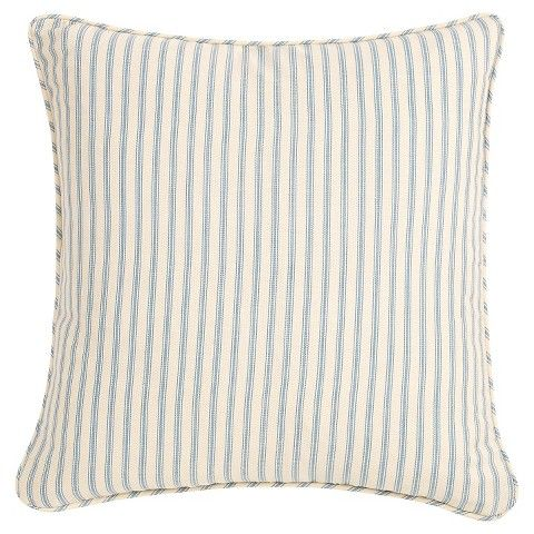 Sure Fit Ticking Stripe Slipcover Pillow Slip Covers