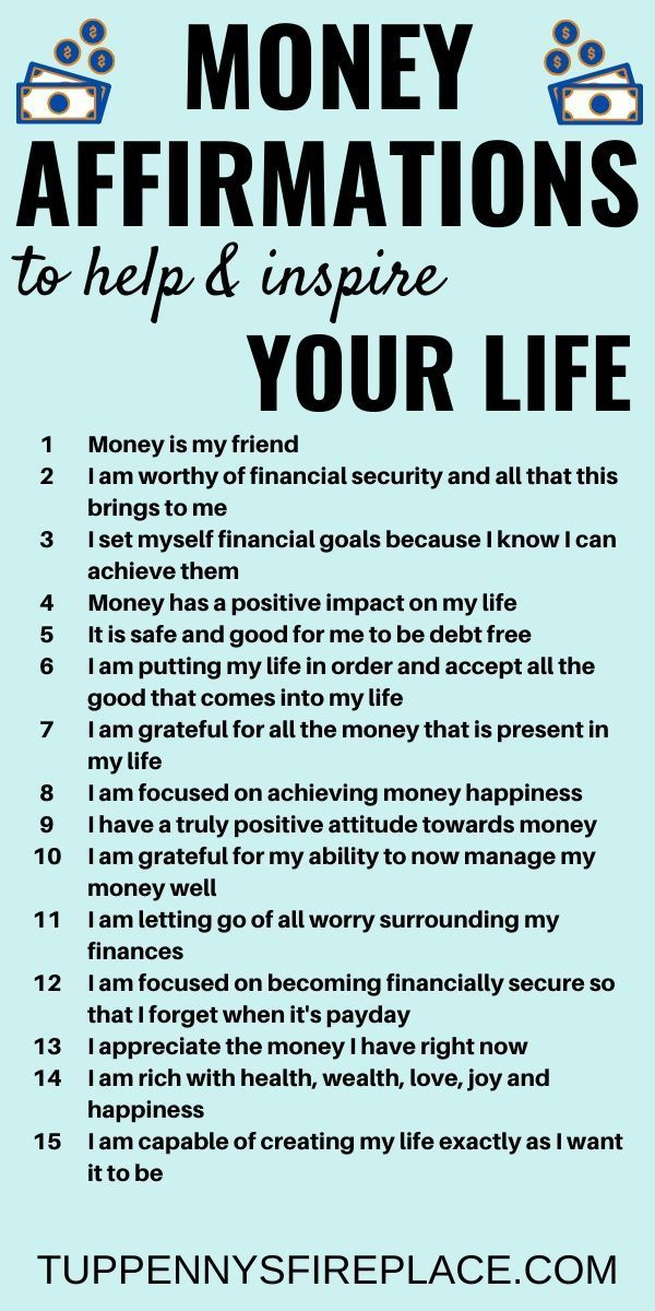15 Money Affirmations That Will Inspire Your Life