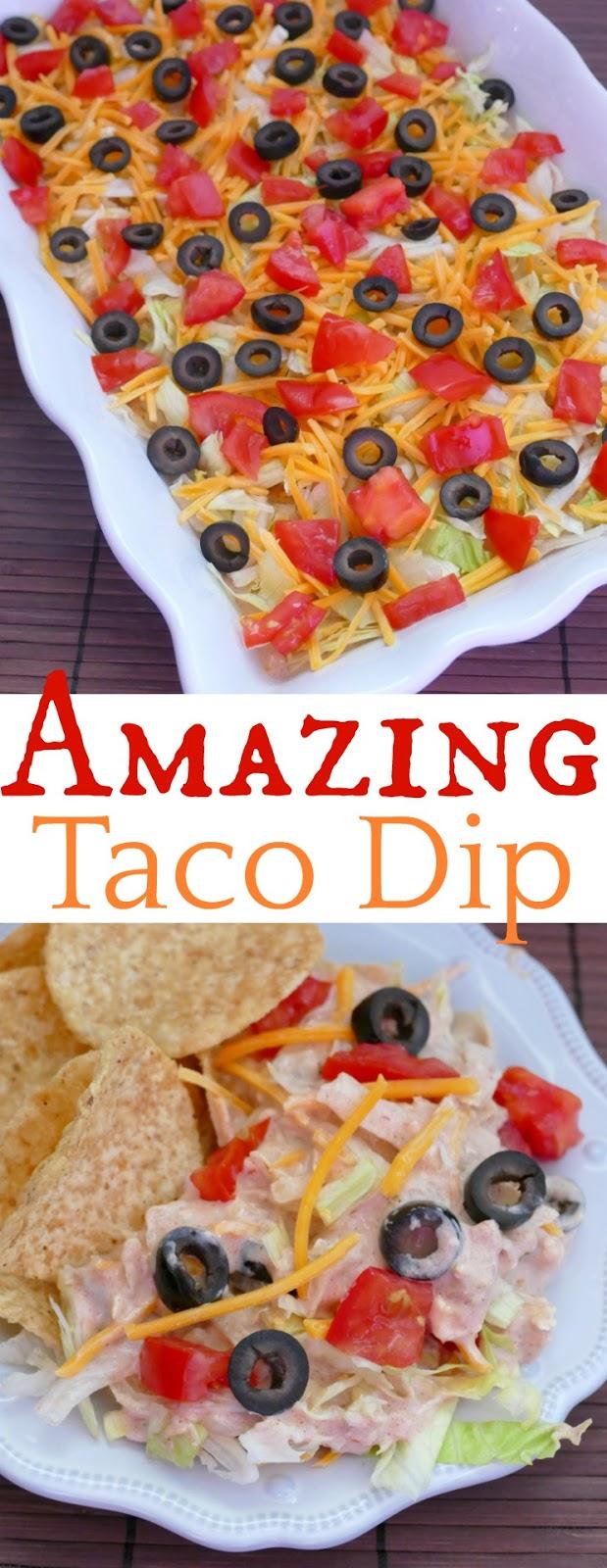Amazing Taco Dip Recipe