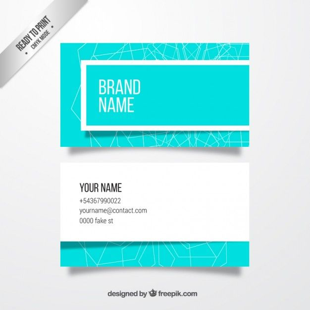 Light blue business card free vector design resources and light blue business card free vector reheart Image collections