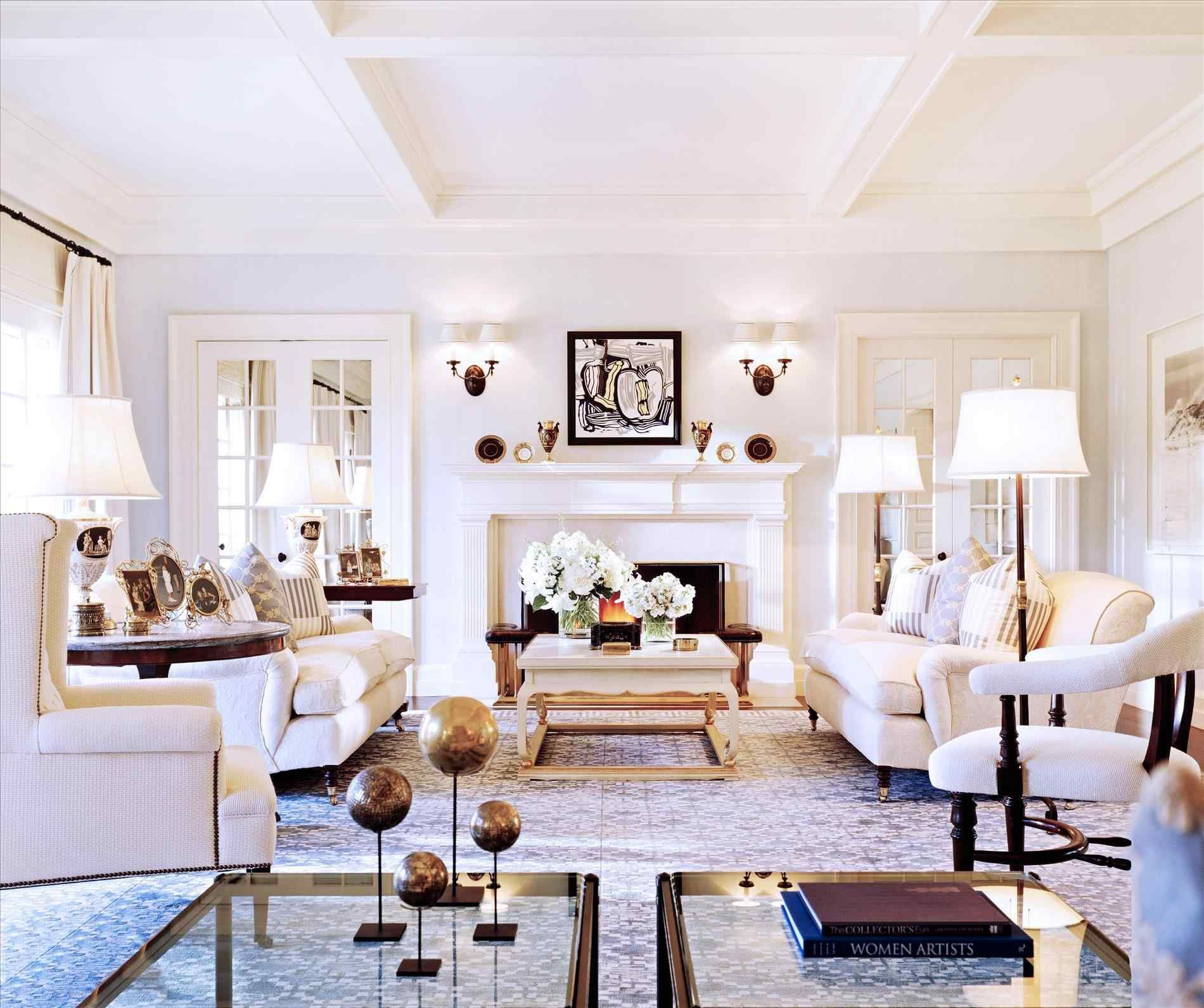 Double Sofas Living Rooms Room And Beauty Chandelier Webnera Home Family Room Family Living Rooms