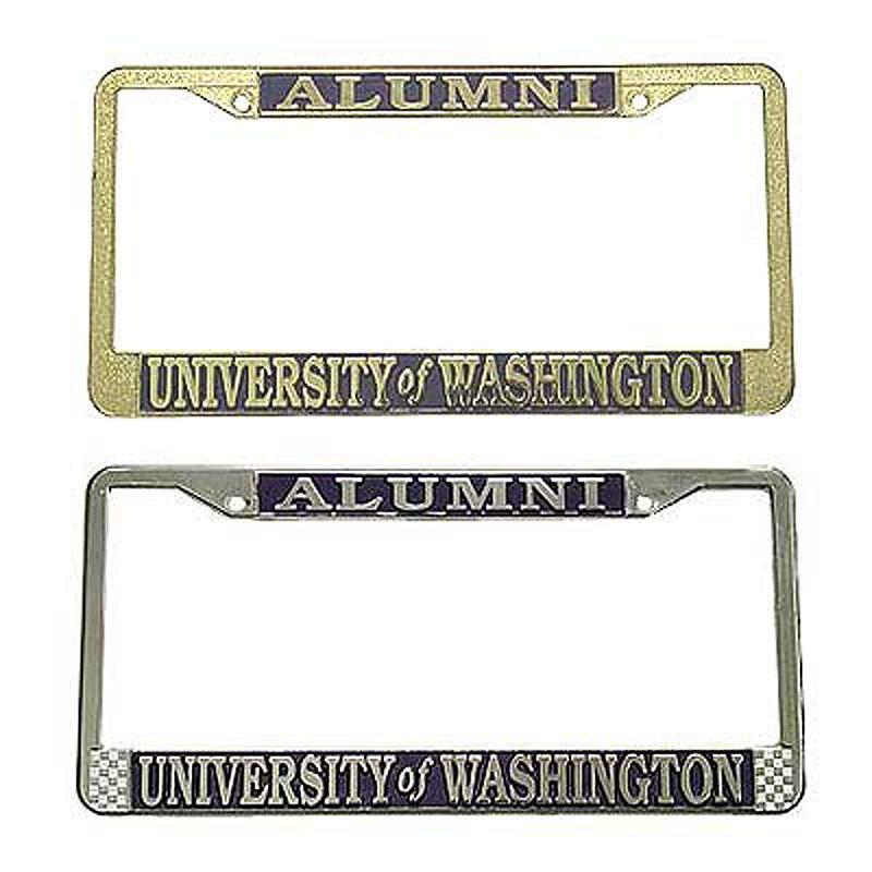 Uw Alumni License Plate Frame For Me License Plate