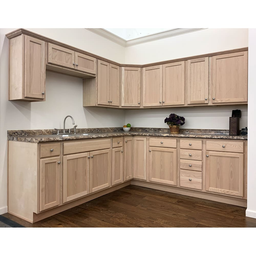 16+ Unfinished oak shaker cabinets type