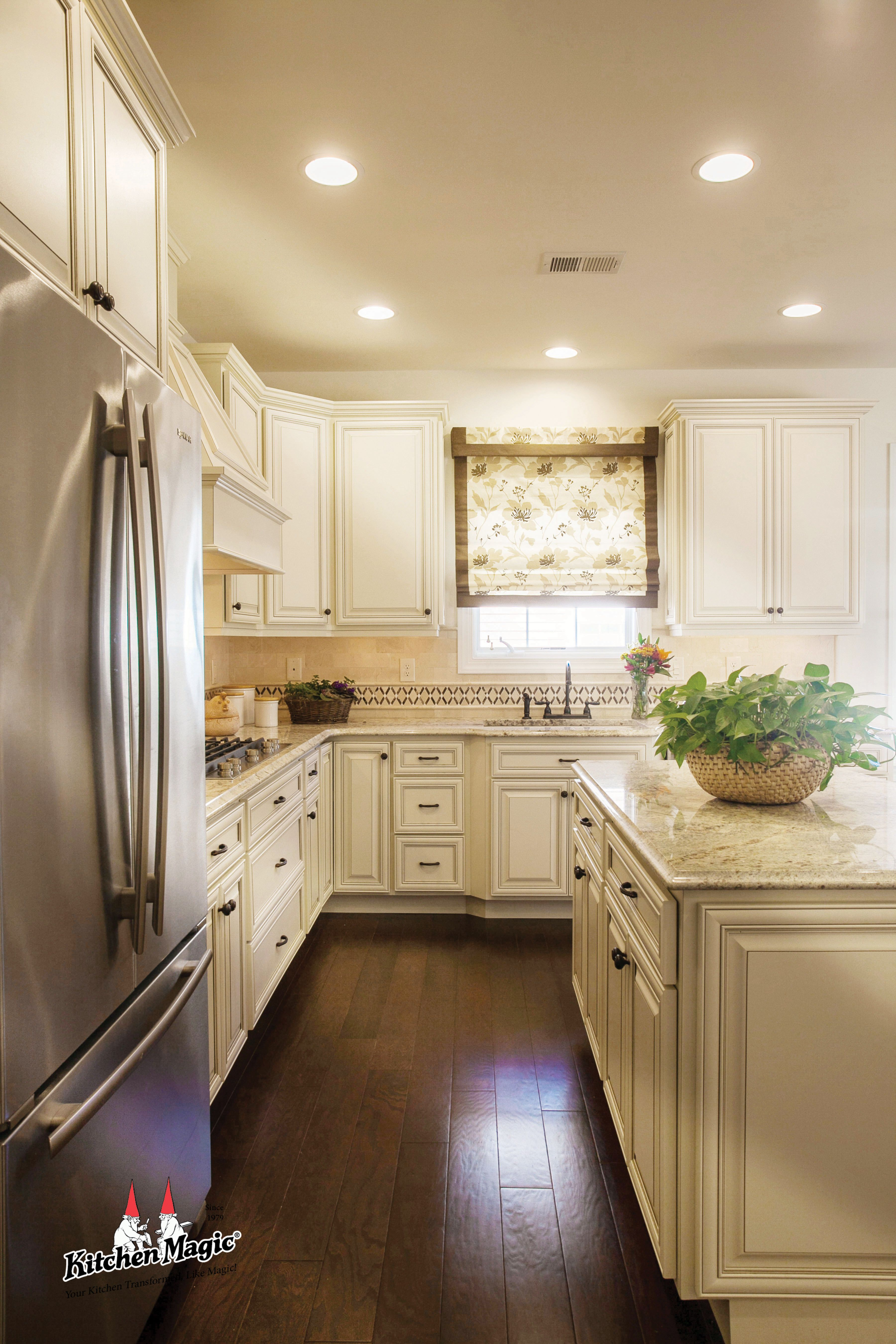 Kitchen remodel and design by Kitchen Magic. | Kitchen Cabinets ...