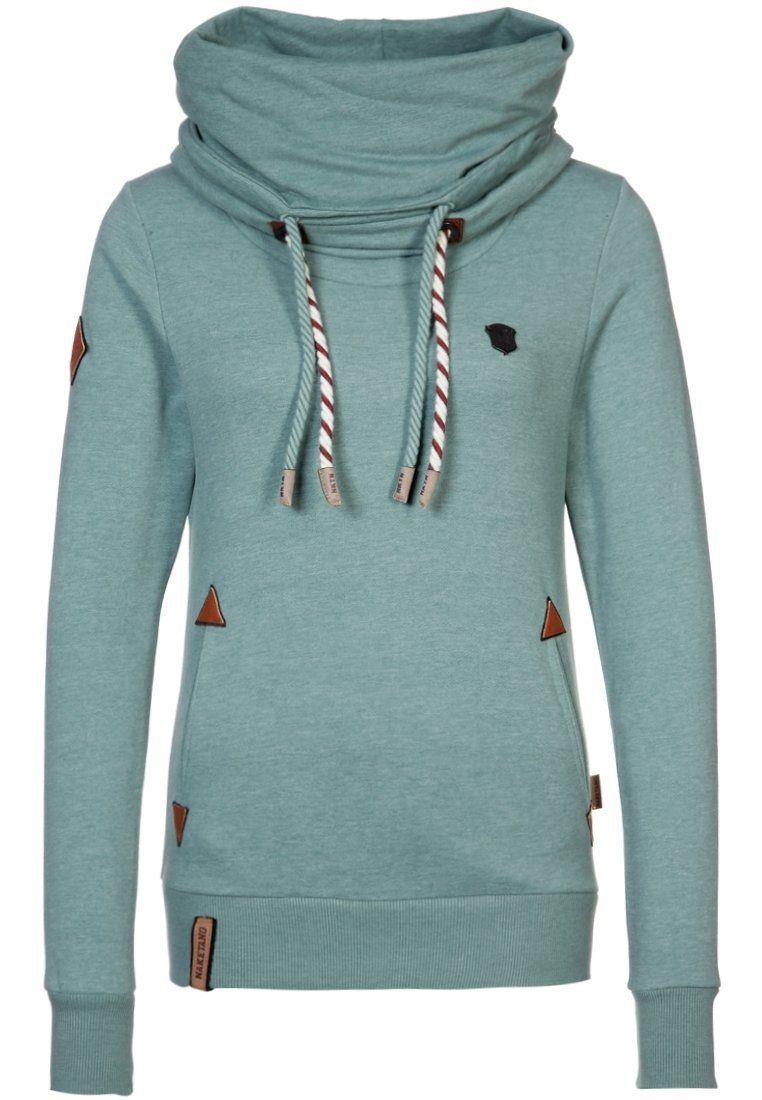 new styles e8f12 43317 Naketano REORDER II - Sweatshirt - green - Zalando.co.uk ...