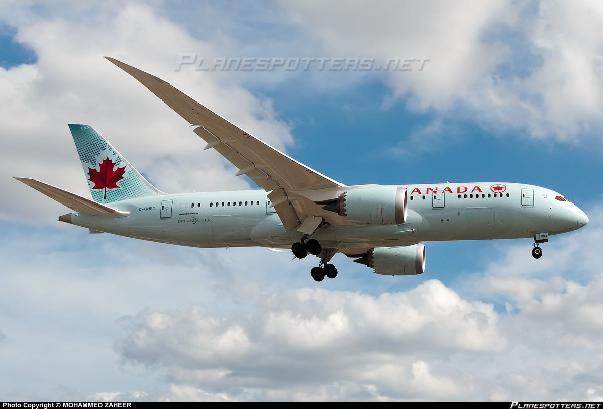 C-GHPT Air Canada Boeing 787-8 Dreamliner