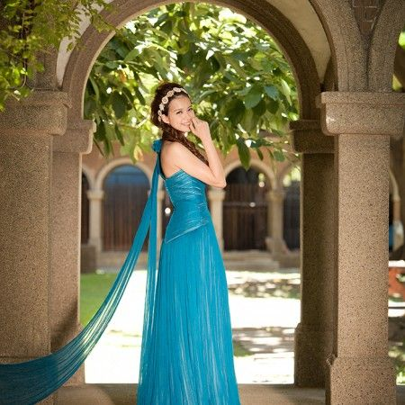 blue dress - TaipeiRoyalWed.tw 台北蘿亞結婚精品 藍色晚禮服