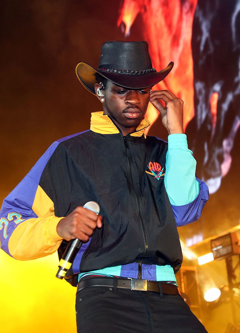 Country/trap rapper Lil Nas X dropped his longawaited