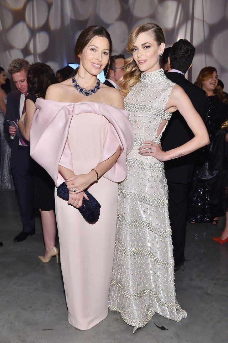 Pin for Later: Jessica Alba hatte geladen und die Stars kamen in Scharen Jessica Biel und Jaime King