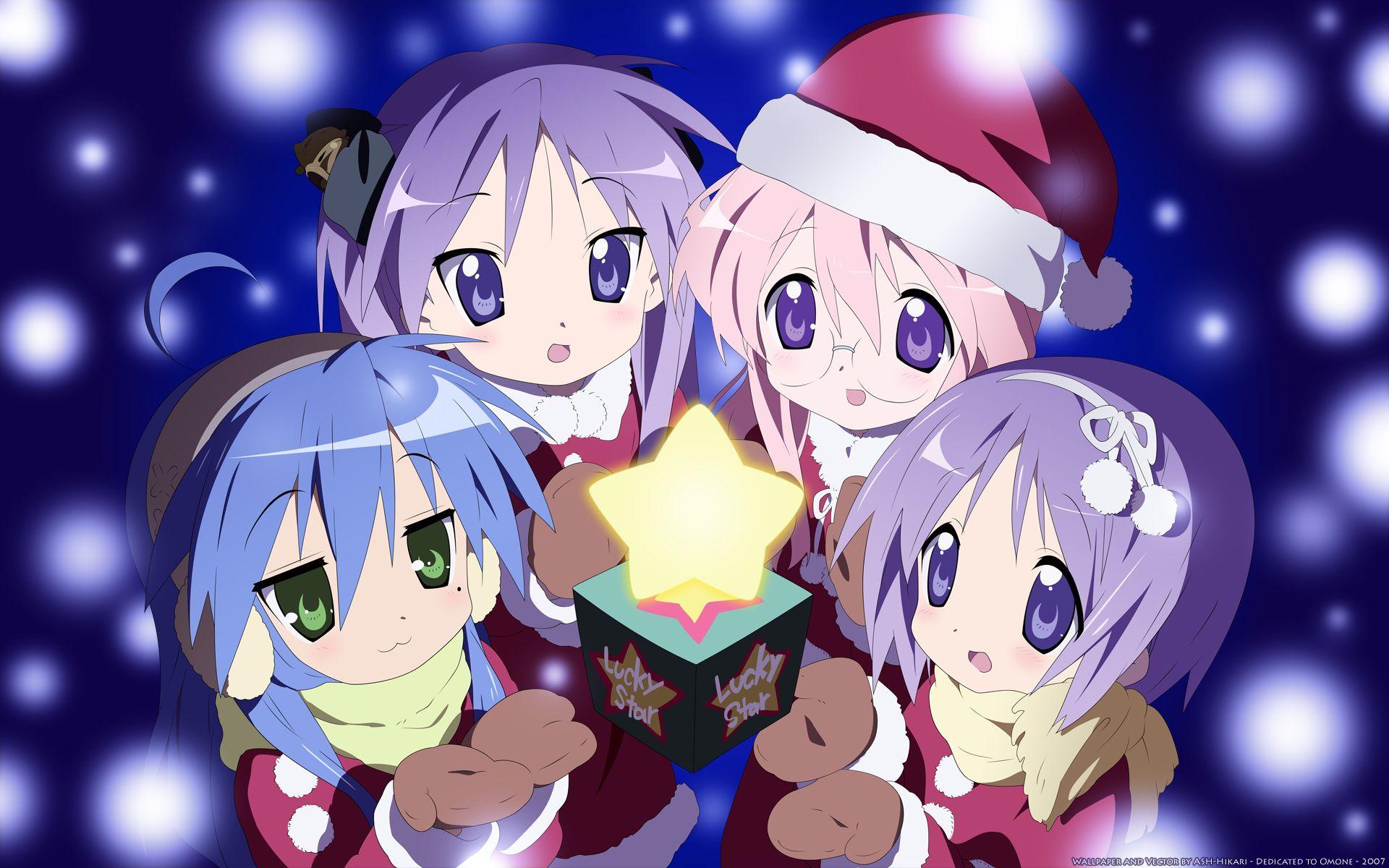 Anime Christmas Wallpaper.Pin On Anime Christmas