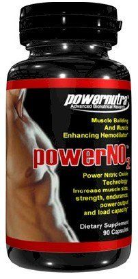 Power NO2 – 90 Capsules Nitric Oxide Muscle Building And Muscle Enhancing Hemodilator