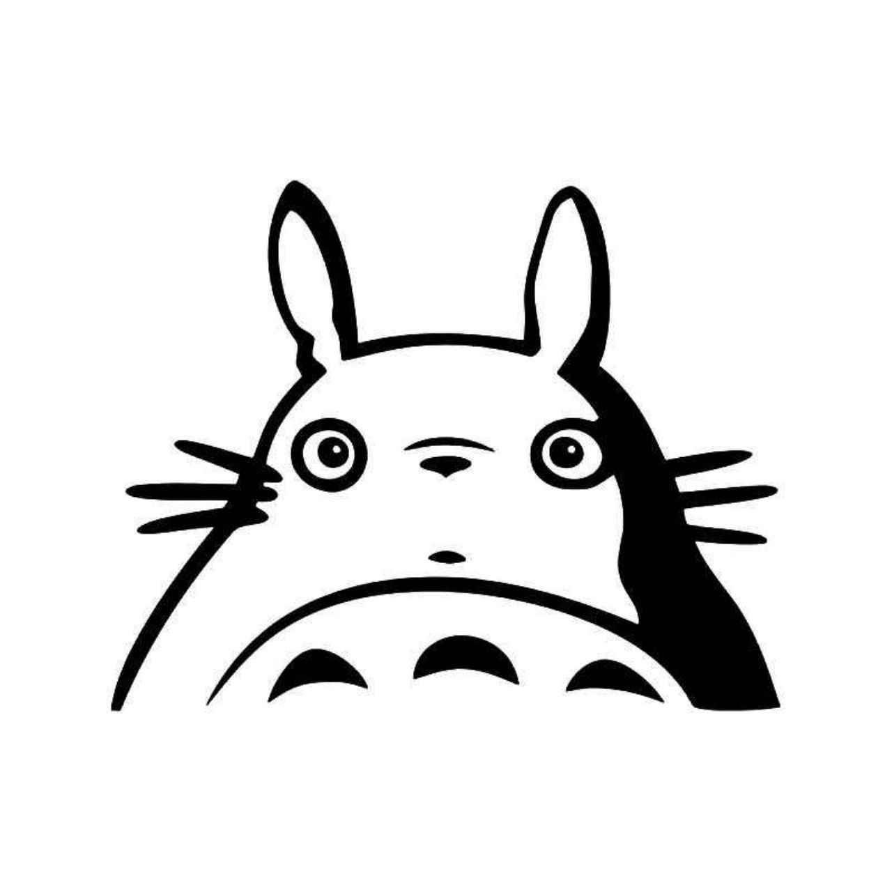 Totoro Anime 7 Vinyl Decal Sticker Ballzbeatz Com