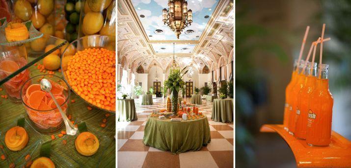 orange and green me Miami Hurricanes Pinterest Weddings