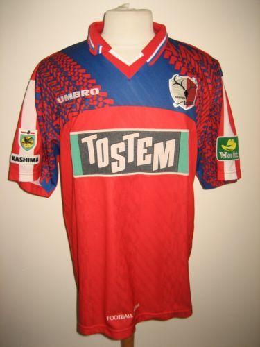 80efff01d1a Kashima-Antlers-90s-Japan-vintage-football-shirt-soccer-jersey-trikot-size-L