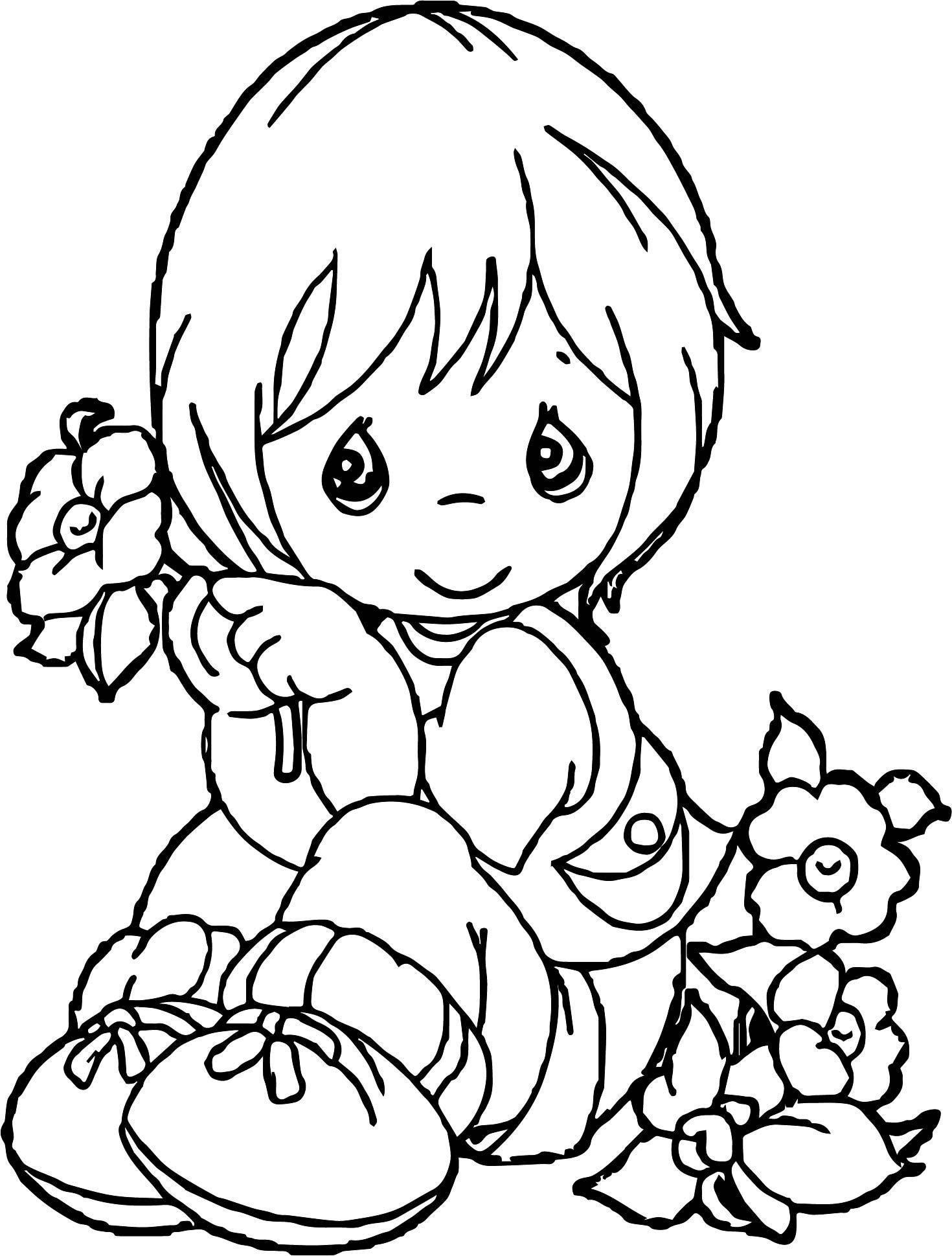 malvorlagen baby girl  Coloring and Malvorlagan