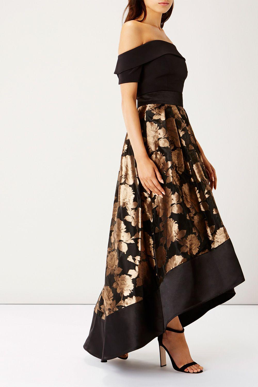 GOLD FLOWER RHIAN SKIRT | dresses | Pinterest | Flower and Gold